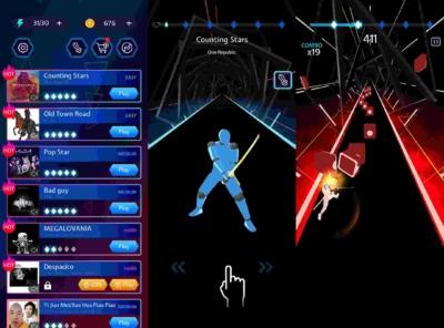 Beat Blade Dash Dance Mod
