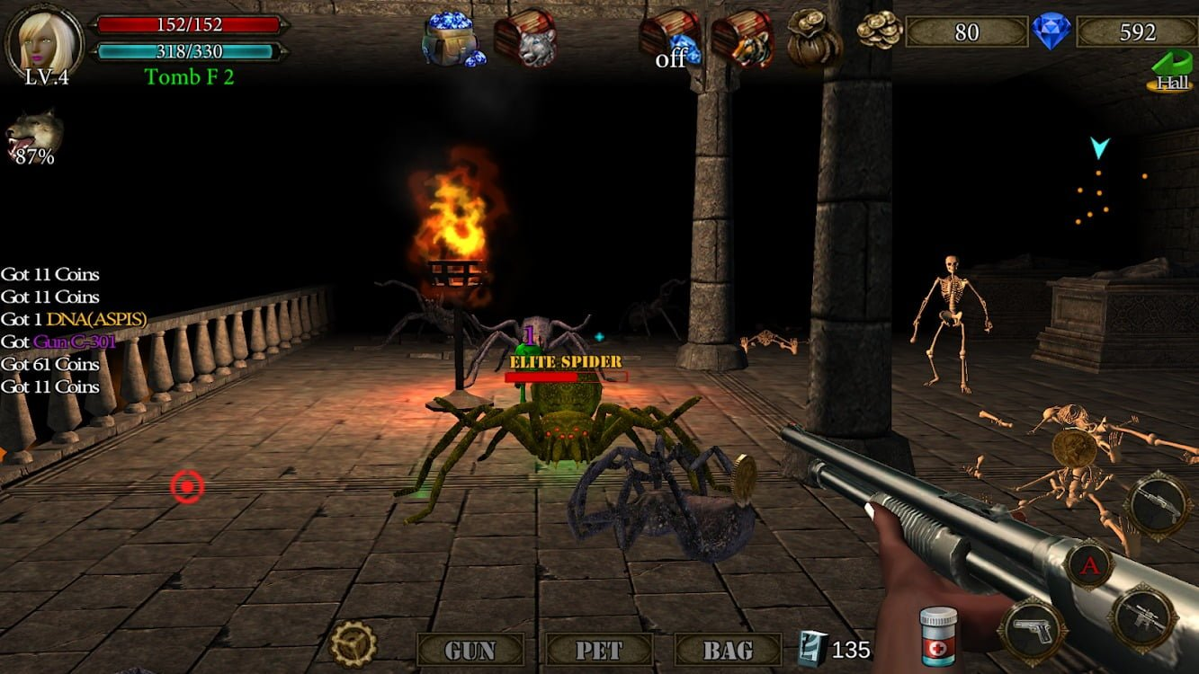 Dungeon Shooter gameplay