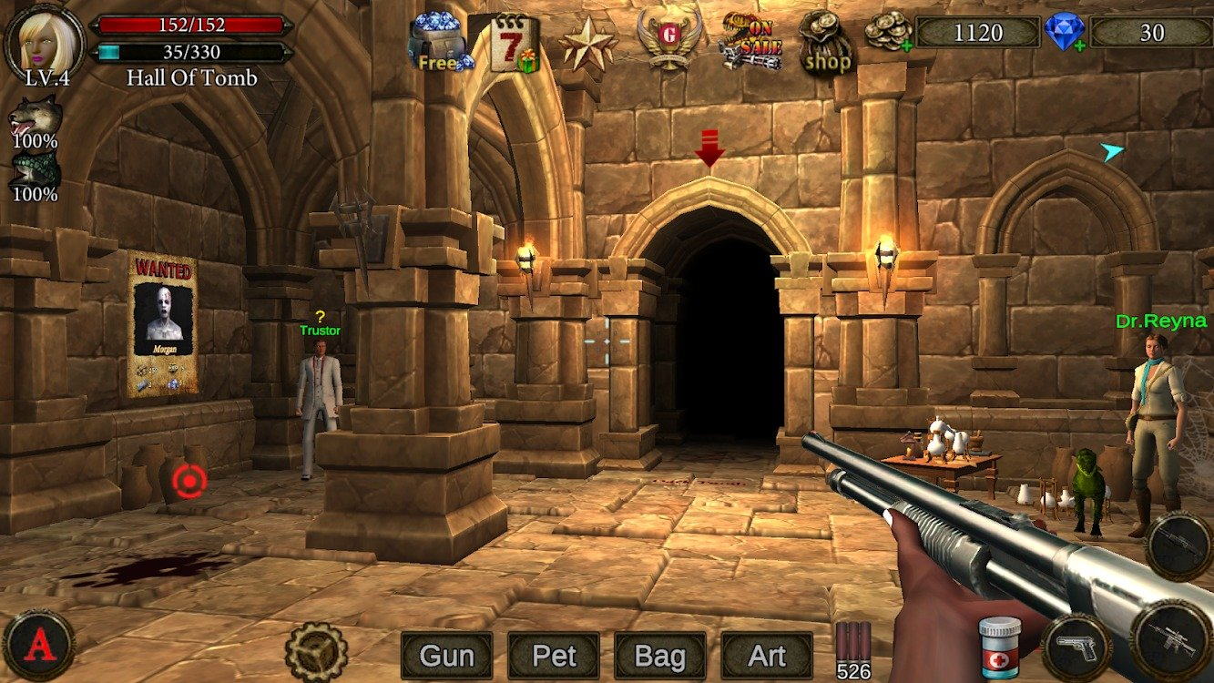 Dungeon Shooter graphics