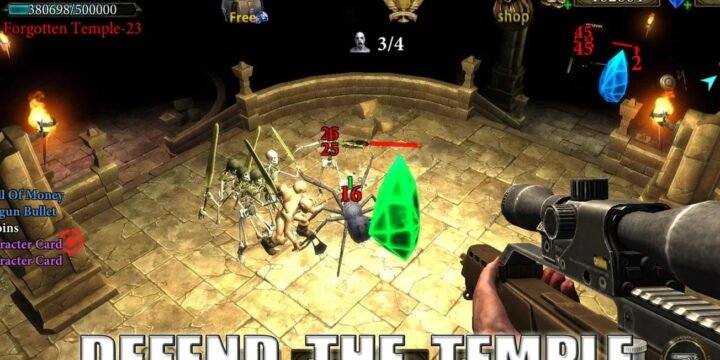 Dungeon Shooter MOD APK cover 1304x720
