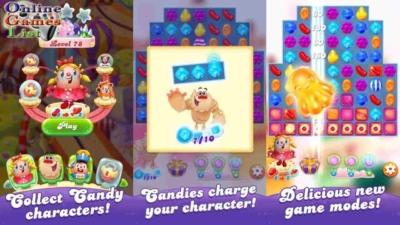 game Candy Crush Friends Saga mod