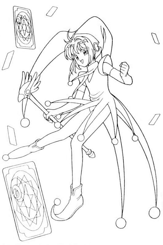 Hình ảnh Sakura ăn mặc như lá phăng teo