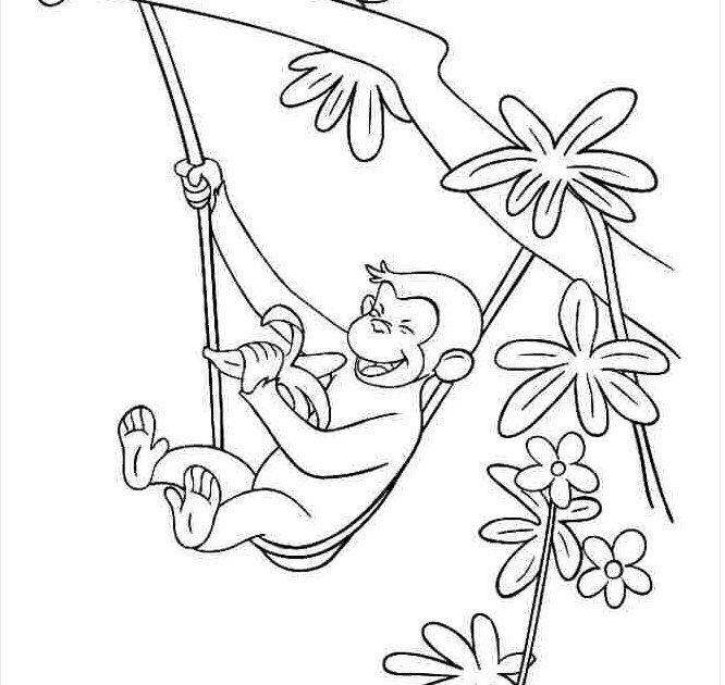 hình chú khỉ con ăn chuối