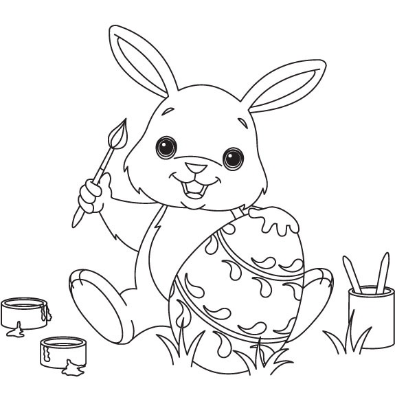 hình con thỏ 6