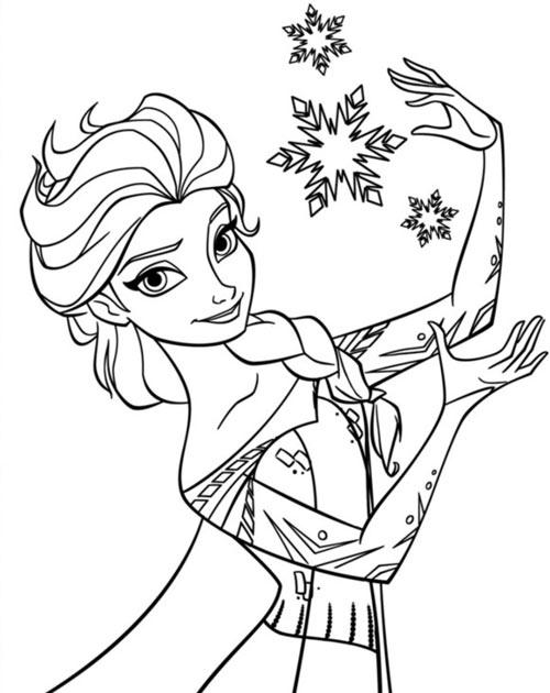 hình công chúa elsa 2
