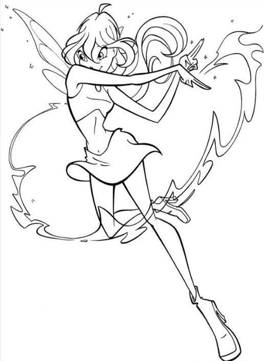 hình công chúa phép thuật Winx