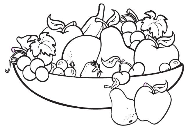 hình đĩa trái cây đẹp