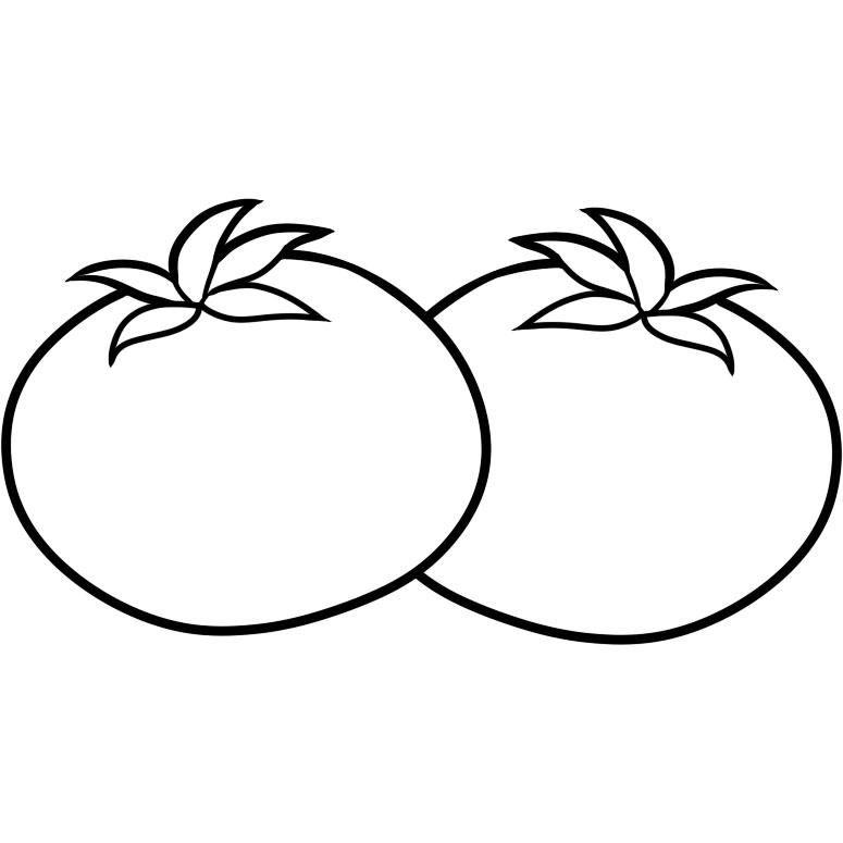 hình quả cà chua