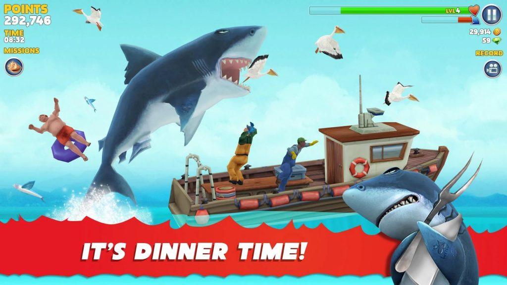Hungry Shark Evolution gameplay 1024x576