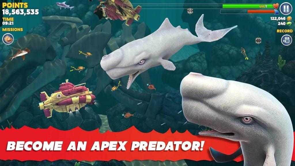 Hungry Shark Evolution hack 1024x576