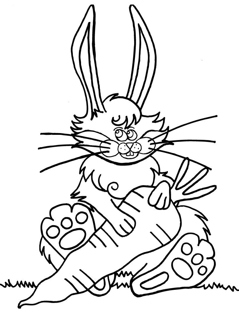 Images Rabbit with Carrot
