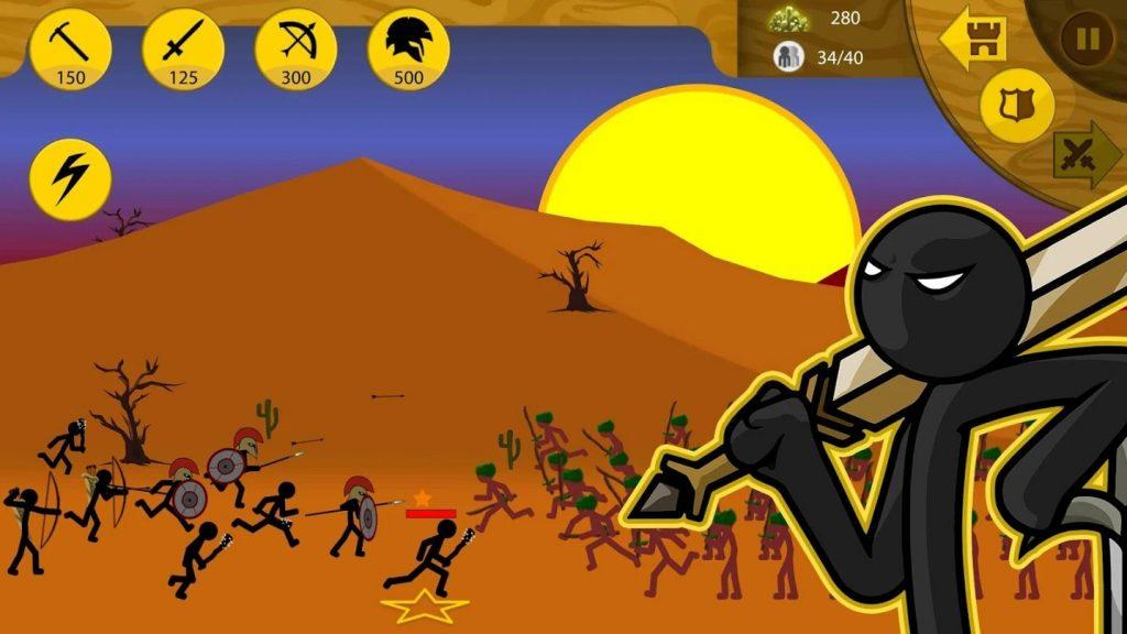 Stick War Legacy battle 1024x576