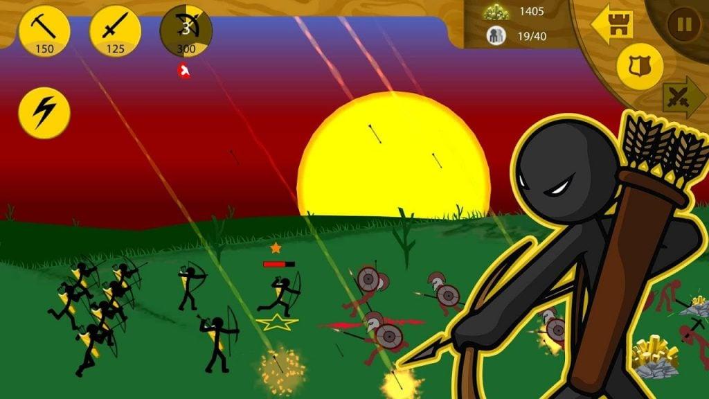 Stick War Legacy gameplay 1024x576