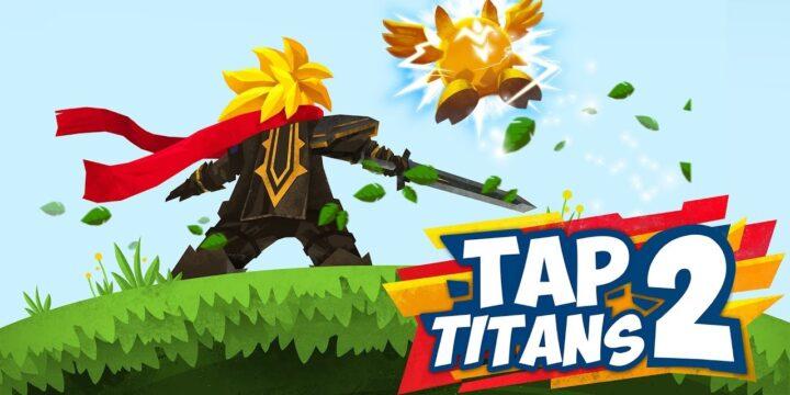 Tap Titans 2 cover