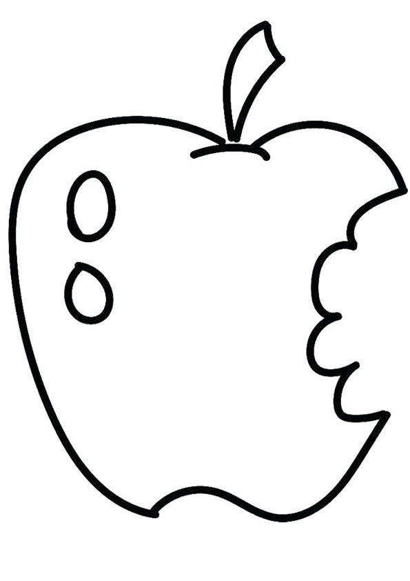 Tranh quả táo cắn dở