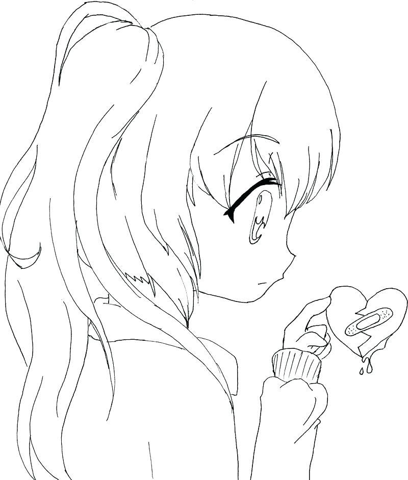 Tranh tập tô hình anime