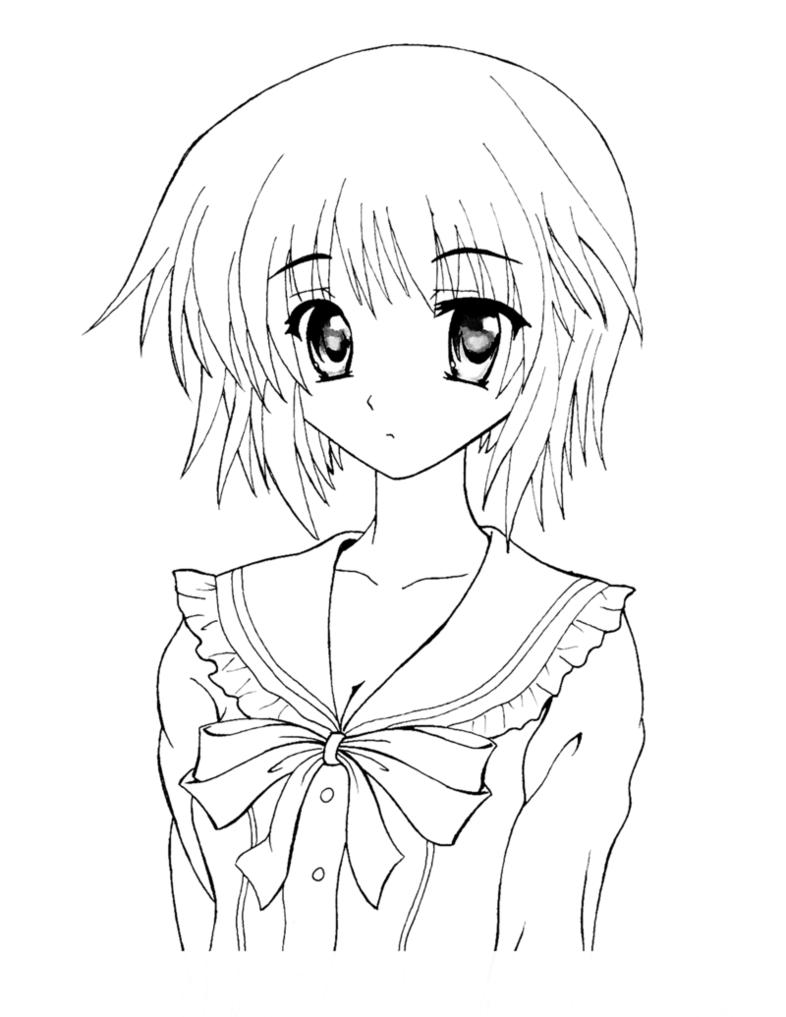 Tranh tập tô màu anime