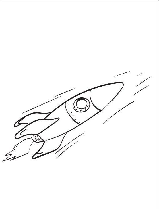 Tranh tên lửa tô màu
