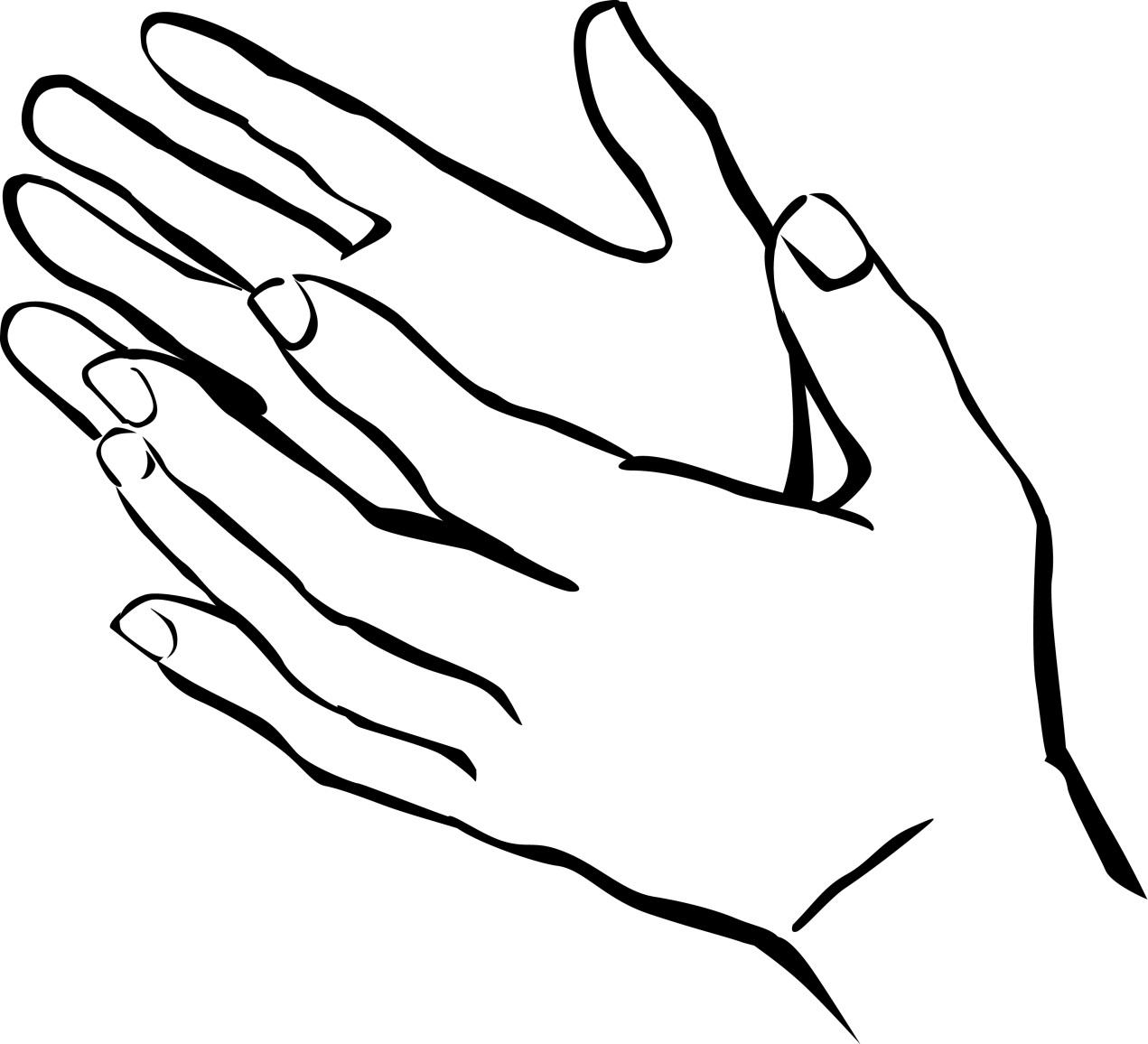 Tranh tô màu bàn tay đẹp