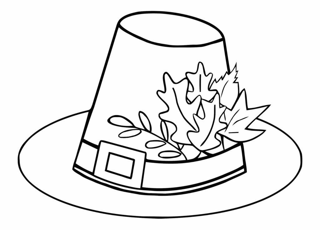 Tranh tô màu cái mũ dễ thương nhất