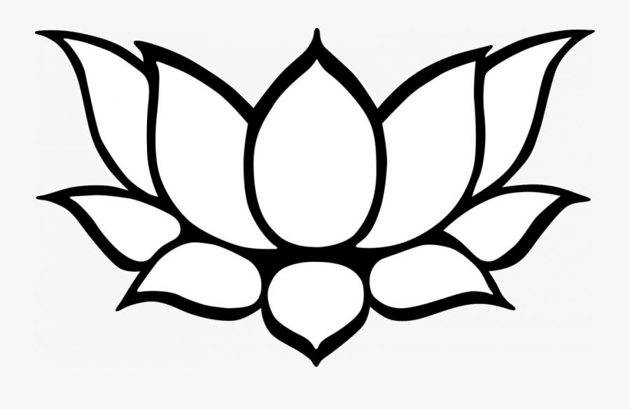 Tranh tô màu đài hoa sen