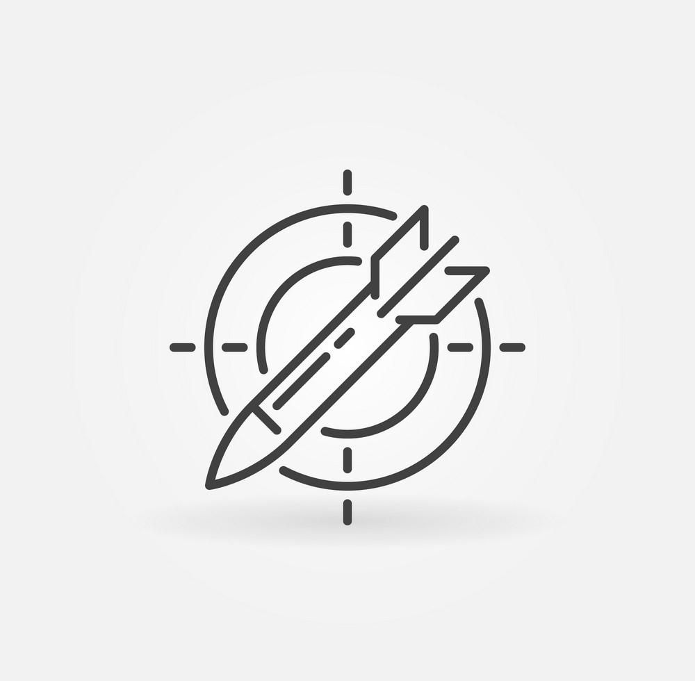 Tranh tô màu logo tên lửa