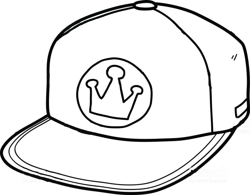 Tranh tô màu mũ snapback