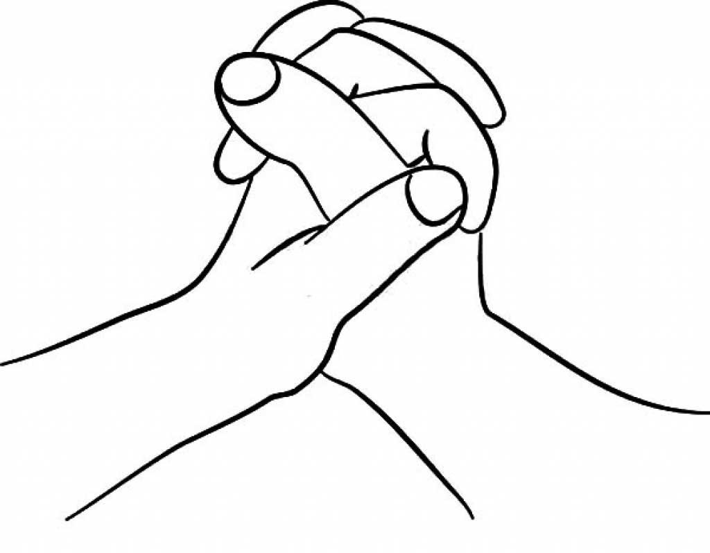 Tranh tô màu nắm tay