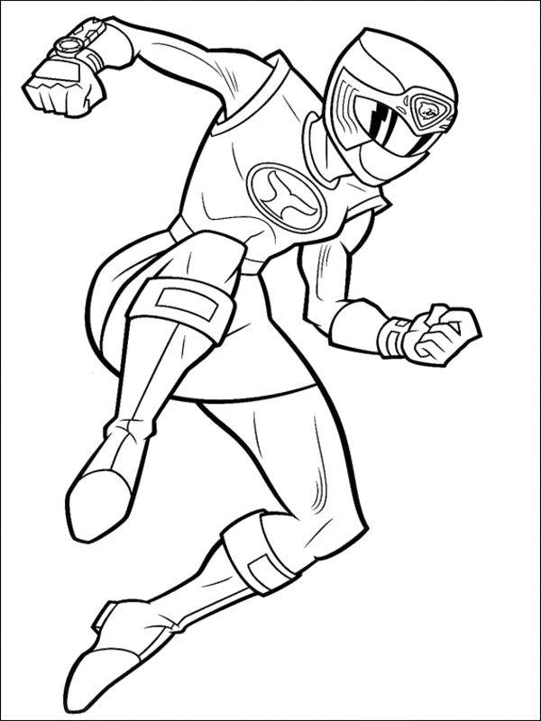 Tranh tô màu siêu nhân chiến đấu