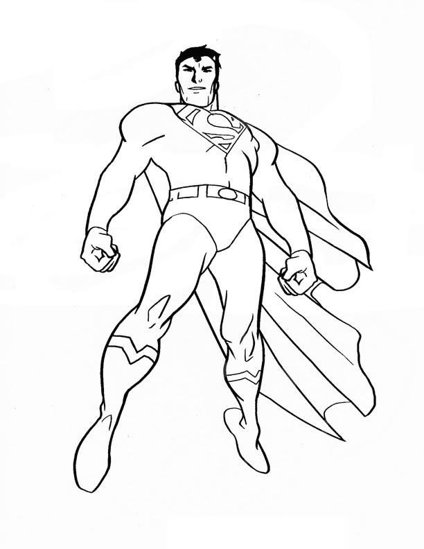 Tranh tô màu siêu nhân đẹp  (2)