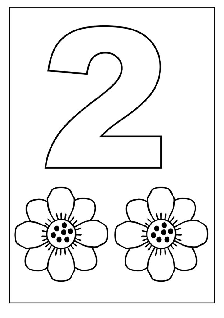 Tranh tô màu số 2 cho bé 3 tuổi