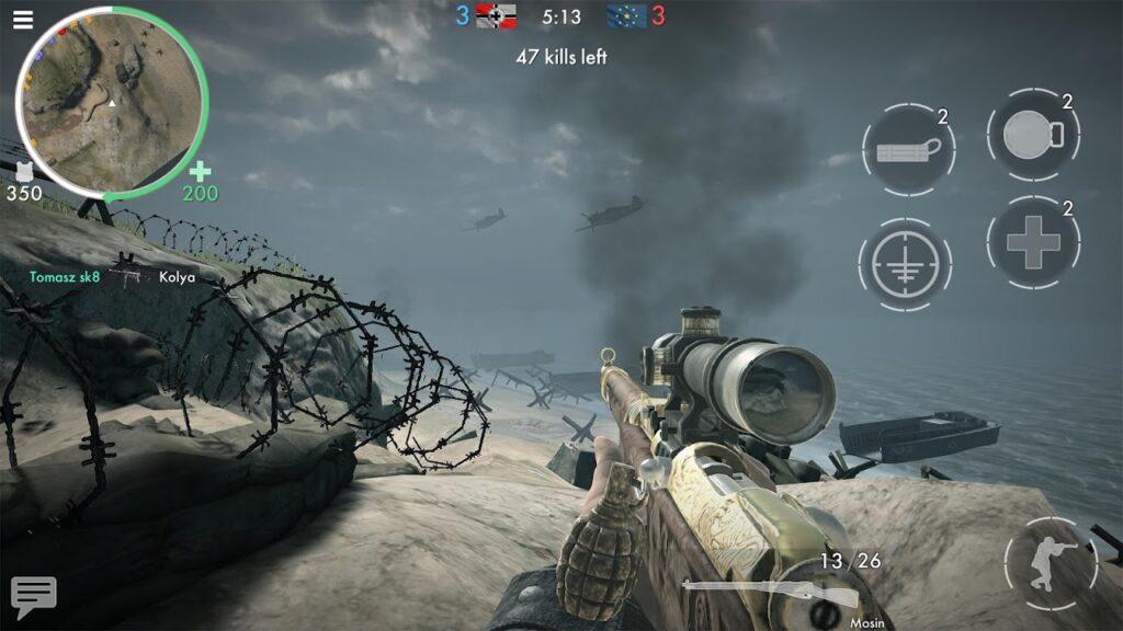 World War Heroes gameplay 1024x576
