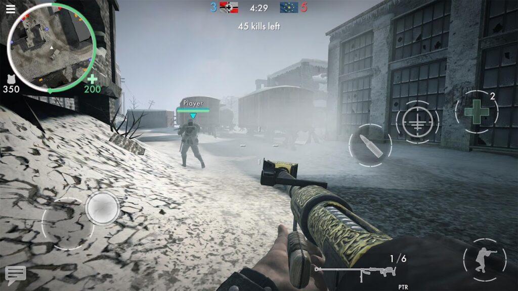 World War Heroes mod apk 1024x576