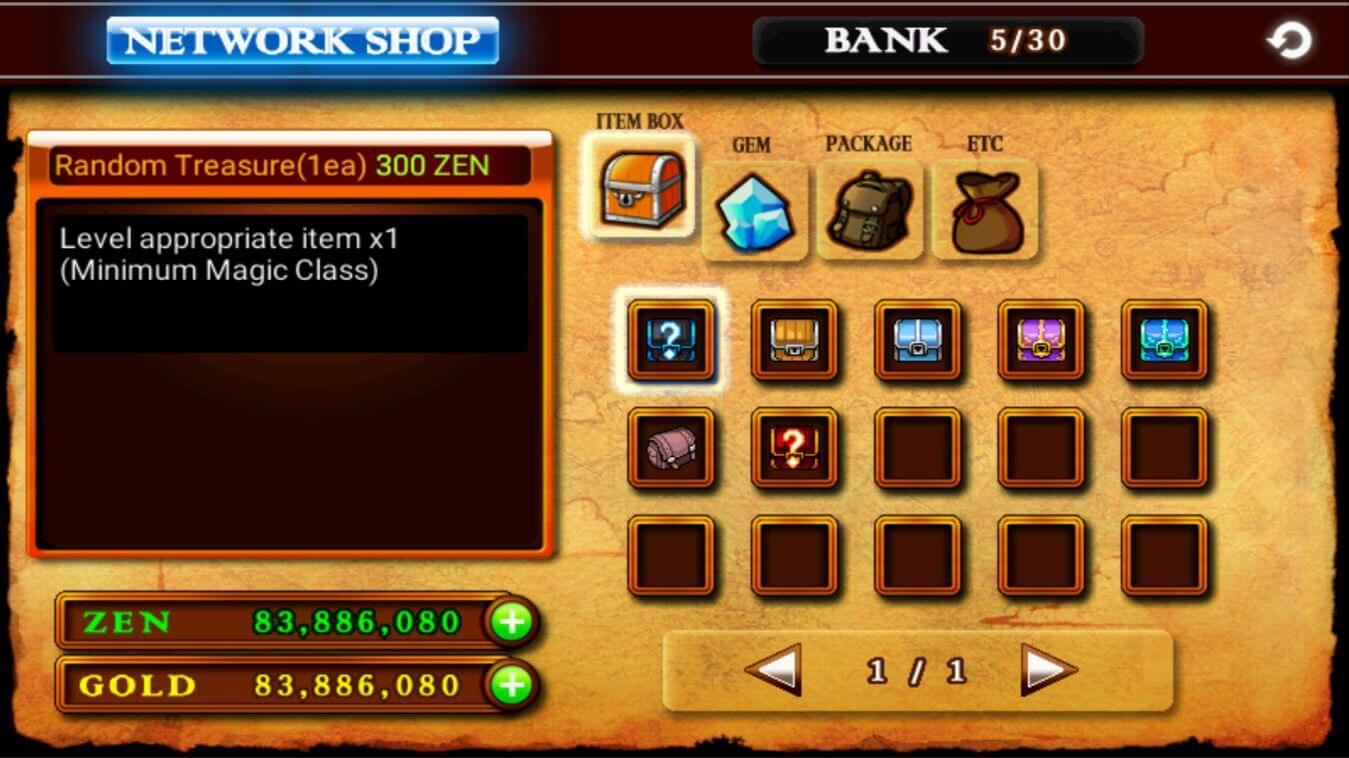 Zenonia 4 tinh nang mod