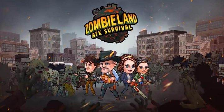 Zombieland AFK Survival MOD APK cover